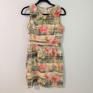 Cute Floral Sheath Dress
